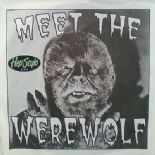 45 Rpm EP ✦ MEET THE WEREWOLF ✦ Eddie Angel 90s Raw Guitar Instros